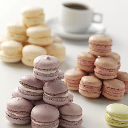 I'd work for these cookies––French macaroons.