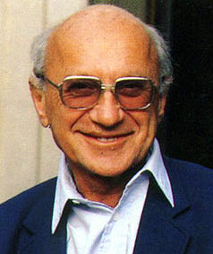 Milton Friedman, Nobel Laureate and Guru of Conservative Economists
